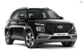 2021 Hyundai Venue QX.V3 MY21 Active Black 6 Speed Automatic Wagon