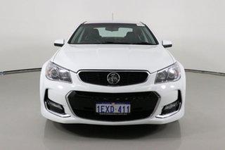 2015 Holden Commodore VF II SV6 White 6 Speed Automatic Sedan.