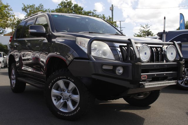 Used Toyota Landcruiser Prado KDJ150R GXL Mount Gravatt, 2012 Toyota Landcruiser Prado KDJ150R GXL Grey 5 Speed Sports Automatic Wagon