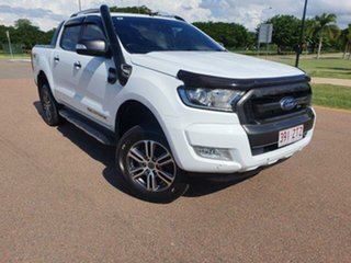 2017 Ford Ranger PX MkII Wildtrak Double Cab 6 Speed Sports Automatic Utility.