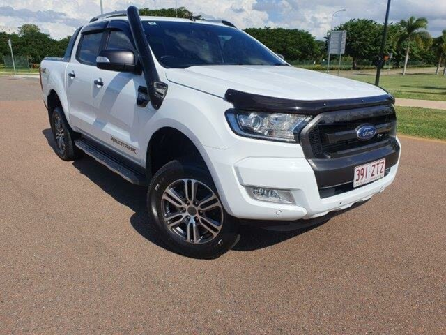 Used Ford Ranger PX MkII Wildtrak Double Cab Townsville, 2017 Ford Ranger PX MkII Wildtrak Double Cab 6 Speed Sports Automatic Utility