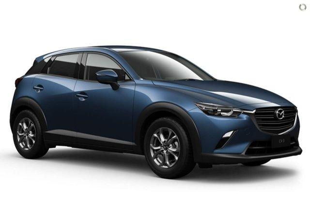 New Mazda CX-3 DK2W7A Maxx SKYACTIV-Drive FWD Sport East Maitland, 2020 Mazda CX-3 DK2W7A Maxx SKYACTIV-Drive FWD Sport Blue 6 Speed Sports Automatic Wagon