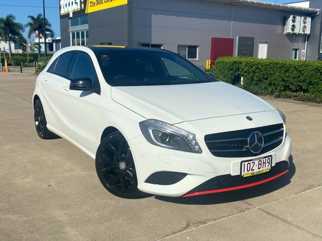 Used Mercedes-Benz A-Class W176 A180 D-CT Townsville, 2013 Mercedes-Benz A-Class W176 A180 D-CT White 7 Speed Sports Automatic Dual Clutch Hatchback
