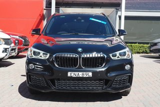 2016 BMW X1 F48 xDrive25i Steptronic AWD Black 8 Speed Sports Automatic Wagon