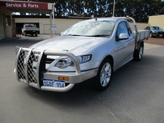 2011 Ford Falcon XR6 Silver 6 Speed Automatic Utility.
