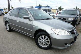 2005 Honda Civic 7th Gen MY2004 GLi Silver 5 Speed Manual Sedan
