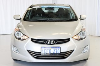 2013 Hyundai Elantra MD3 Premium Silver 6 Speed Sports Automatic Sedan