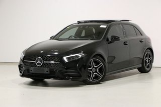 2018 Mercedes-Benz A200 177 MY19 Black 7 Speed Auto Dual Clutch Hatchback.