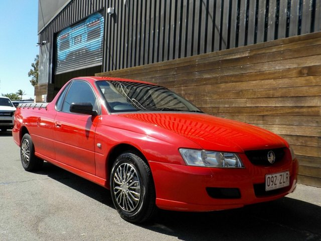 Used Holden Ute VZ MY06 Labrador, 2007 Holden Ute VZ MY06 Red 4 Speed Automatic Utility