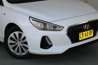 2018 Hyundai i30 PD MY18 Go White 6 Speed Sports Automatic Hatchback