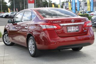 2015 Nissan Pulsar B17 Series 2 ST Red 6 Speed Manual Sedan.