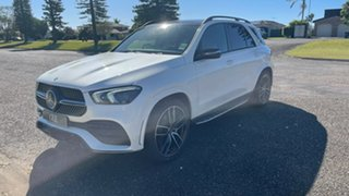 2021 Mercedes-Benz GLE-Class V167 801+051MY GLE400 d 9G-Tronic 4MATIC Designo Diamond White Bright.