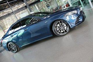 2021 Mercedes-Benz A-Class V177 801+051MY A35 AMG SPEEDSHIFT DCT 4MATIC Blue 7 Speed.