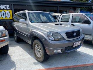 2006 Hyundai Terracan SLX HP MY07 Silver 4 Speed Auto Active Select Wagon