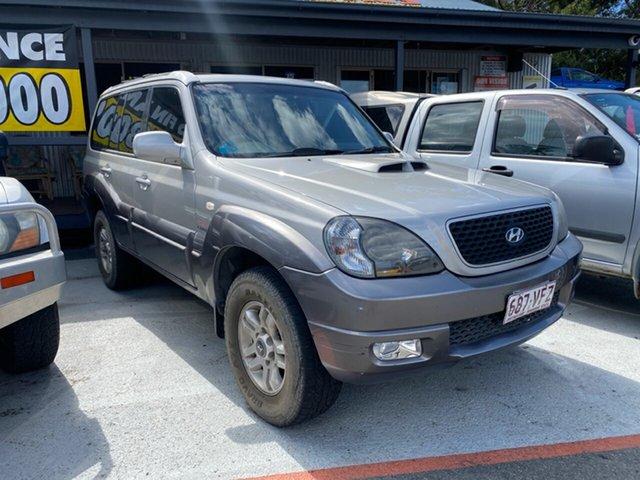 Used Hyundai Terracan Morayfield, 2006 Hyundai Terracan SLX HP MY07 Silver 4 Speed Auto Active Select Wagon