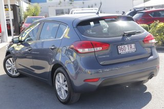 2014 Kia Cerato YD MY14 SI Planet Blue 6 Speed Sports Automatic Hatchback.