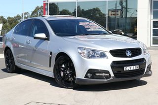 2015 Holden Commodore VF MY15 SS V Redline Silver 6 Speed Sports Automatic Sedan.