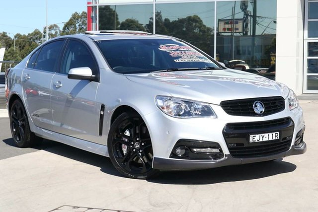 Used Holden Commodore VF MY15 SS V Redline Liverpool, 2015 Holden Commodore VF MY15 SS V Redline Silver 6 Speed Sports Automatic Sedan