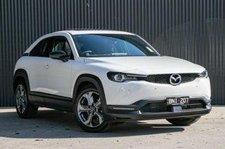 2021 Mazda MX-30 MX-30 Arctic White Wagon.