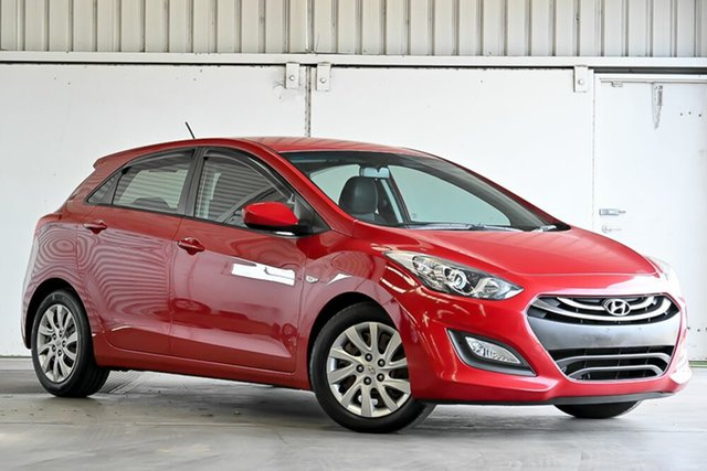 Used Hyundai i30 GD Active Laverton North, 2013 Hyundai i30 GD Active Red 6 Speed Sports Automatic Hatchback