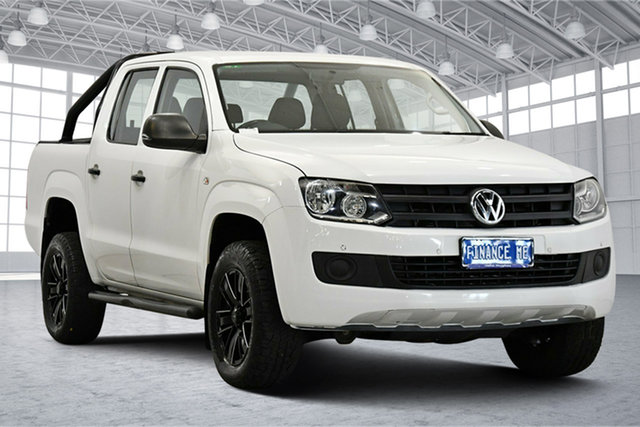 Used Volkswagen Amarok 2H MY14 TDI420 4Motion Perm Victoria Park, 2014 Volkswagen Amarok 2H MY14 TDI420 4Motion Perm White 8 Speed Automatic Utility