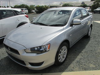 2011 Mitsubishi Lancer CJ MY11 SX Silver 6 Speed Constant Variable Sedan.