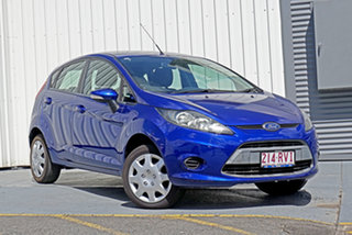 2011 Ford Fiesta WT CL PwrShift Blue 6 Speed Sports Automatic Dual Clutch Hatchback.