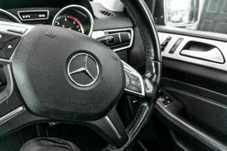 2013 Mercedes-Benz M-Class W166 ML250 BlueTEC 7G-Tronic + Grey 7 Speed Sports Automatic Wagon