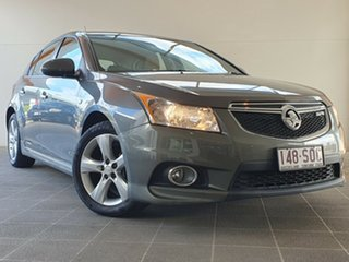 2012 Holden Cruze JH Series II MY12 SRi-V Grey 6 Speed Manual Hatchback.