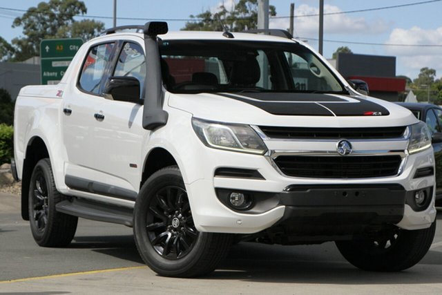 Used Holden Colorado RG MY16 Z71 Crew Cab Aspley, 2016 Holden Colorado RG MY16 Z71 Crew Cab White 6 Speed Sports Automatic Utility