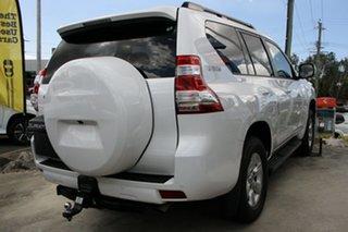 2017 Toyota Landcruiser Prado GRJ150R GXL White 6 Speed Sports Automatic Wagon.