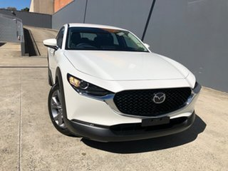 2021 Mazda CX-30 C30B G20 Evolve (FWD) Snowflake White 6 Speed Automatic Wagon