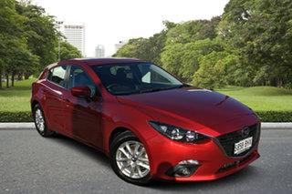 2015 Mazda 3 BM5478 Maxx SKYACTIV-Drive Red/Black 6 Speed Sports Automatic Hatchback.