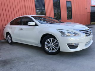 2015 Nissan Altima L33 ST X-tronic White 1 Speed Constant Variable Sedan.