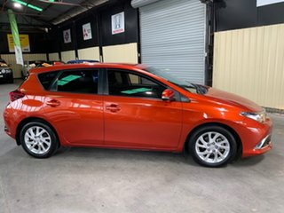 2016 Toyota Corolla ZRE182R MY15 Ascent Sport Orange 7 Speed CVT Auto Sequential Hatchback.