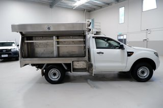 2014 Ford Ranger PX XL Hi-Rider White 6 Speed Sports Automatic Cab Chassis