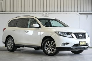 2016 Nissan Pathfinder R52 MY15 ST X-tronic 2WD Ivory Pearl 1 Speed Constant Variable Wagon.