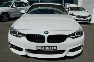 2019 BMW 430i F32 MY17 M Sport Alpine White 8 Speed Automatic Coupe
