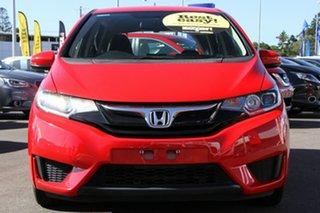 2016 Honda Jazz GF MY16 VTi Red 5 Speed Manual Hatchback.