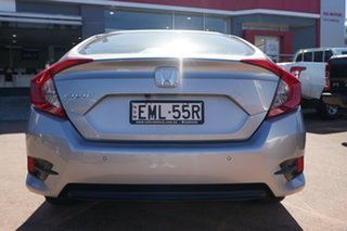 2016 Honda Civic MY16 VTi-S Silver Continuous Variable Sedan