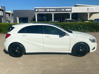 2013 Mercedes-Benz A-Class W176 A180 D-CT White 7 Speed Sports Automatic Dual Clutch Hatchback.