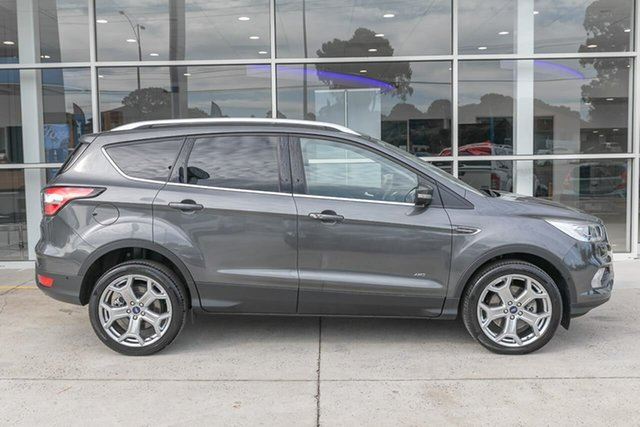 Used Ford Escape ZG 2019.25MY Titanium Ferntree Gully, 2019 Ford Escape ZG 2019.25MY Titanium Grey 6 Speed Sports Automatic SUV