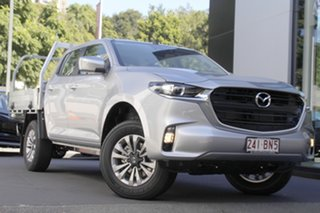 2020 Mazda BT-50 UR0YG1 XT Ingot Silver 6 Speed Manual Cab Chassis.