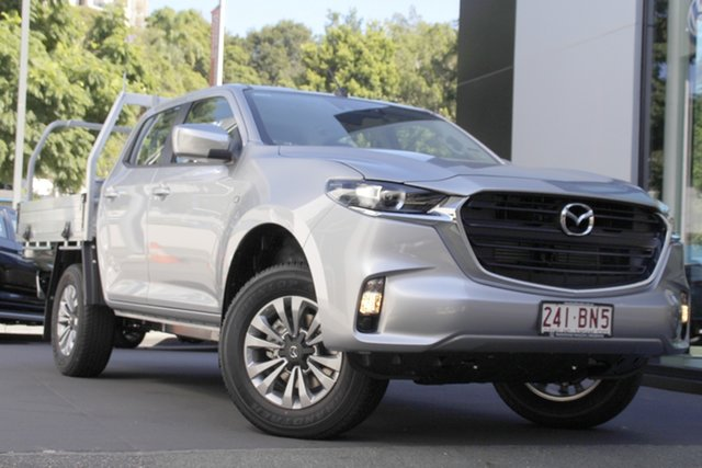 Demo Mazda BT-50 TFS40J XT Newstead, 2020 Mazda BT-50 TFS40J XT Ingot Silver 6 Speed Sports Automatic Cab Chassis