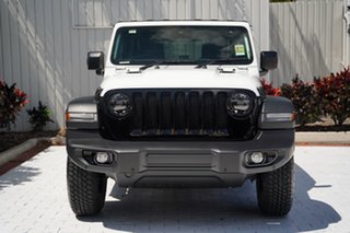 2020 Jeep Wrangler JL MY21 Unlimited Willys Bright White 8 Speed Automatic Hardtop.