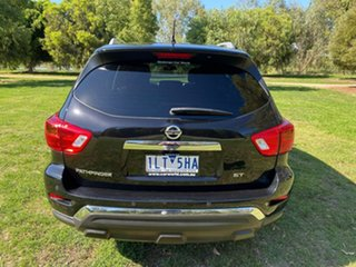 2017 Nissan Pathfinder R52 Series II MY17 ST X-tronic 2WD Black 1 Speed Constant Variable Wagon