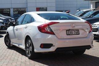 2020 Honda Civic 10th Gen MY20 VTi-L White 1 Speed Constant Variable Hatchback.