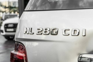 2008 Mercedes-Benz M-Class W164 MY08 ML280 CDI Silver 7 Speed Sports Automatic Wagon.