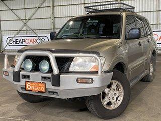 2004 Mitsubishi Pajero GLS Gold Automatic Wagon.