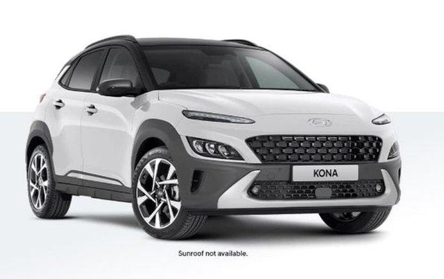 New Hyundai Kona Os.v4 MY21 Active 2WD Oakleigh, 2020 Hyundai Kona Os.v4 MY21 Active 2WD White 8 Speed Constant Variable Wagon